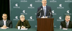 Press Conference Announcing MSU-Detroit Collaboration