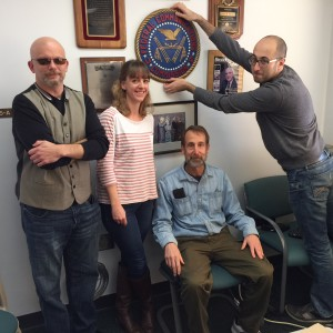 Research Team Members R.V. Rikard, Bibi Reisdorf, Mitch Shapiro, Aleks Yankelevich