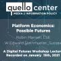 Platform Economics talk